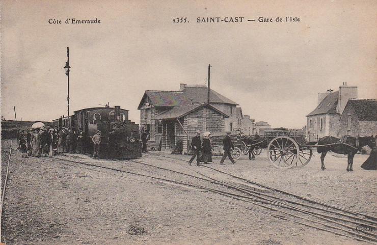 Gare de l isle saint cast