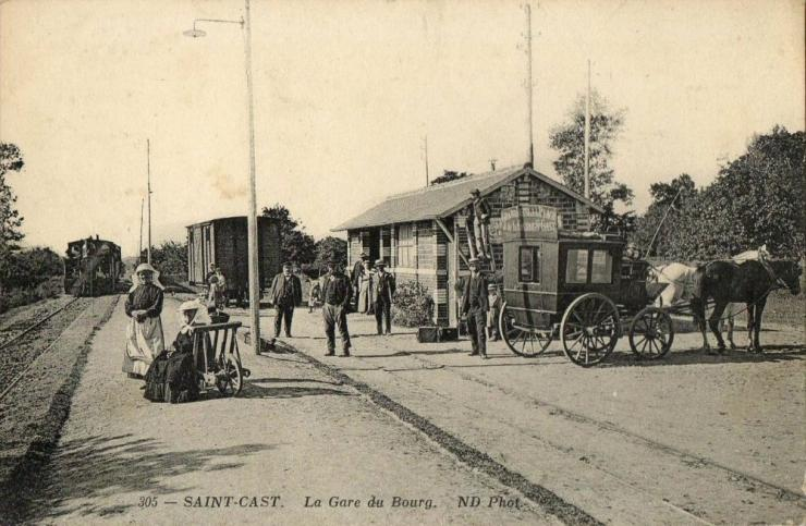 Gare du bourg saint cast