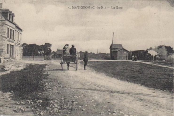 Gare matignon
